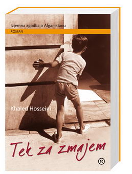 Tek za zmajem; The kite runner (naslovnica)